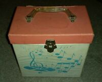 Platter-pak Box Filled with Lot of 50 45's Misc Records Columbia RCA Music RARE