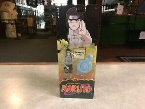"""2006 Mattel Naruto Shonen Jump ROTATION JUTSU NEJI 5"""" Inch MOC"""