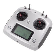 Flysky 2.4G AFHDS 2A 10 Channels Transmitter Silver & IA6B Receiver for FPV