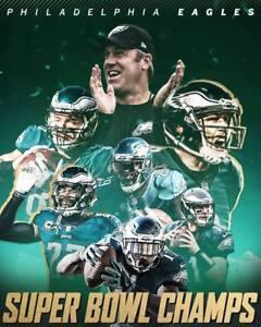 PHILADELPHIA EAGLES SB CHAMPS 8X10 PHOTO NFL FOOTBALL PICTURE CHAMPIONS