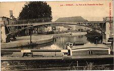CPA  Stenay - Le Port et la Passerelle du Canal  (178798)