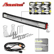 32 Inch 540W 54000LM 8D Curved LED Light Bar Quad Row  Off Road Truck SUV