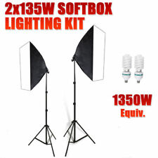 1350W Photo Studio Soft Box Continuous Light Video Softbox Lighting Stand Kit