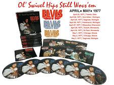 Elvis Collectors 6 CD Box OL' SWIVEL HIPS STILL WOVS' EM APRIL – MAY 1977