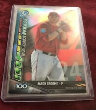 Jason Groome 2017 Bowman Chrome Scouts Top 100 Refractor #BTP-24, Boston Red Sox