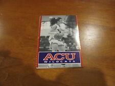 ACU Abilene Christian University Women's Basketball 1993/94 Pocket Schedule