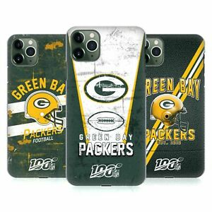 OFFICIAL NFL GREEN BAY PACKERS LOGO ART HARD BACK CASE FOR APPLE iPHONE PHONES