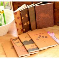 Diario hecho a mano Cuaderno de notas Papel Bloc de notas Diario en bla*ws