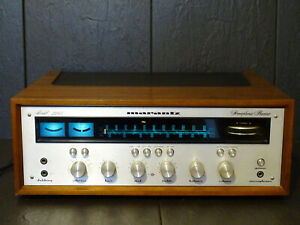 MARANTZ MODEL 2245 RECEIVER LED`s WOODEN CABINET  excellent serviced beautiful