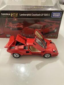 Tomica Premium RS Lamborghini Countach LP500S 1/43