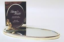 3324-sl Picture Frame with Rose Mirror Kristall 24 Carat Silver - Gold Plated