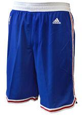 Philadelphia 76ers Blue Hardwood Classics HWC Swingman Shorts L