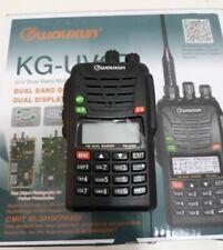 WOUXUN KG UV6D RTX PORTATILE DOPPIA BANDA 66-88 E 136-174 MHz USATO COME NUOVO