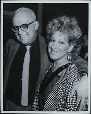 George Christy (Reporter), Bette Midler ORIGINAL PHOTO HOLLYWOOD Candid 2650