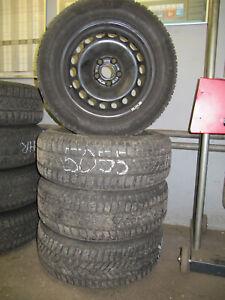 VW Passat 3C Winterräder Bereifung 215/60 R16 99H Stahlfelge 6,5 Jx16 ET41