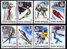 1992 Albertville Olympics,Ice hockey,Bobsled,Luge,Biathlon,Romania,Mi.4761,MNH