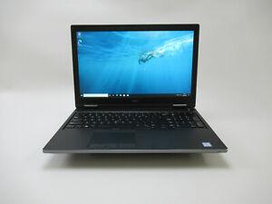"""Dell 15.6"""" Precision 7530 Mobile-Workstation 2.20GHz CORE i7 8750H 32GB 512 SSD"""