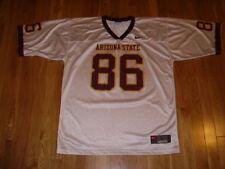 Vintage 1990s Nike Arizona State Sun Devils #86 Mens Ncaa Football Team Jersey L