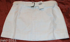 New with tags Abercombie& Fitch White Cotton Mini Skirt Size 0