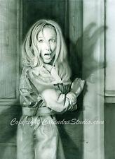 Night of the Living Dead Art! Barbra 11x14 Artist Signed Print!
