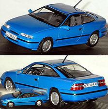 Opel Calibra V6 Coupe 1993-97 blau blue metallic 1:43 Ixo