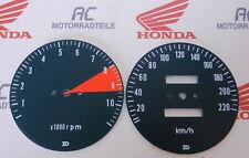 Honda CB 750 Four K2 Zifferblätter Tachometer Scheiben DZM KM/H RPM Face Plates