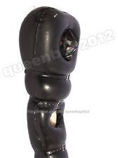 100% Latex Rubber Gummi Inflatable Sleeping Bag Sleep Sack Bodybag Buckle Mask