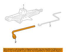 Pontiac GM OEM 09-10 Vibe Jack-Rear Body & Floor-Wrench 94855294