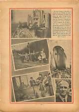 Barcelona Tibidabo Statue Christ/Jean Chiappe/Hôtel La Monnaie 1934 ILLUSTRATION