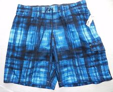 MENS blue swimwear beach SHORTS=SONOMA=NEW $40=SIZE XXL = cs59