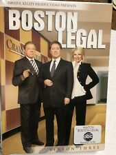 Boston Legal - Season 3 (DVD, 2009, 7-Disc Set) Sealed and unopened
