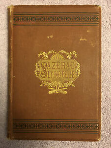 Fred H. Hart THE NEVADA SAZERAC LYING CLUB - 1st ed. (1878) RARE WESTERN HISTORY
