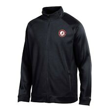 "Alabama Crimson Tide NCAA Champion Men's ""Achievement"" Black Full Zip Jacket"