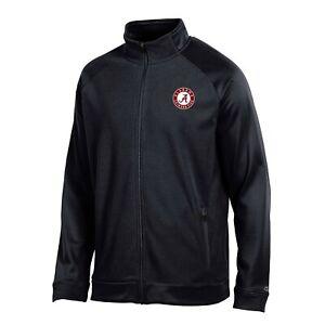 "Alabama Crimson Tide NCAA Champion Men's ""Achievement"" Black Full Zip Jacket"