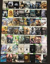 Lot of 157 XBOX 360 Instructional Booklets Authentic Originals X360 MANUALS ONLY