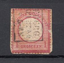 Deutsches Reich Briefmarke 1872 großes Brustschild 1 Groschen Mi 19 gestempelt
