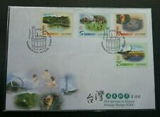 Taiwan Hot Springs 2003 Tourism (stamp FDC)