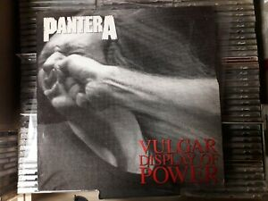 Pantera Vulgar Display Of Power Vinyl 1992 RARE
