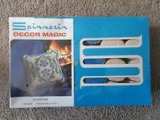 Vintage Spinnerin Decor Magic ( Springtime)  Wall, Pillow kit, 15x15   #9232