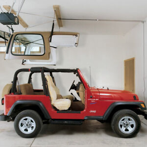 Hoister Direct Garage Storage 10' Lift, Jeep Top, 145 lb, 7803.JEEP