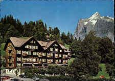 GRINDELWALD Kanto Bern Schweiz Hotel Schweizerhof ungel. color Postkarte ~1970