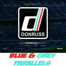 2020 Donruss NASCAR Racing CAROLINA BLUE & GREY Parallels Panini *PICK A CARD*