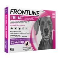 Frontline Tri-Act para perros de 20-40 kg (6 Pipetas)