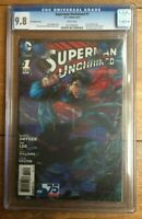 Superman Unchained #1 Jim Lee 3D Variant CGC 9.8