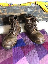 Dr Martens Made in UK Men 6 Steel Toe Leather Boots ANZI Z41 PT91