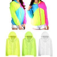 Women's Sun Protection Anti-UV Beach Coat Ultra Thin Long Sleeved Hooded Jackets