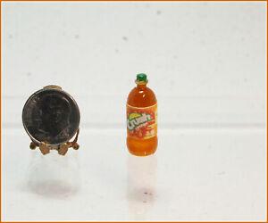 Dollhouse Miniature Replica Dozen Cola Soda Bottles in Wood Crate IM65244