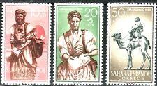 SAHARA ESP. 1959 169/71 DIA DEL SELLO 3v.