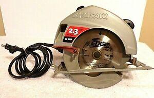 """SkilSaw 54HD Corded Circular Saw 7-1/4"""" Blade 2.3HP Max Motor 12AMP EUC MADE USA"""
