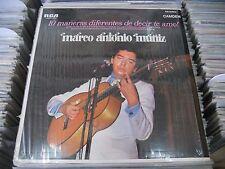 MARCO ANTONIO MUÑIZ 10 MANERAS DIFERENTES DE DECIR TE AMO MEXICAN LP LATIN POP